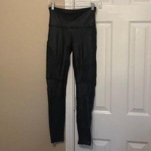 Spanx Nylon/spandex black pants size M
